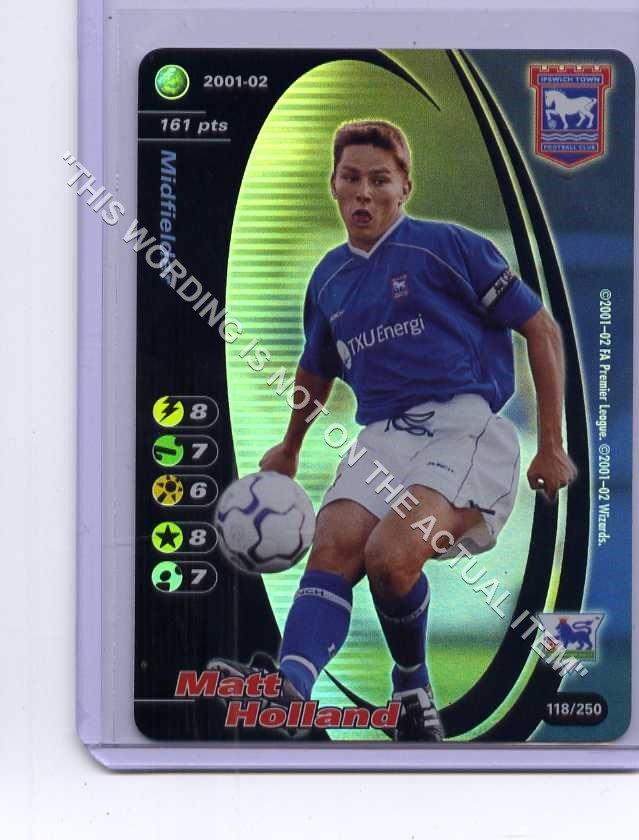 POWELL 83//250 D Derby County Football 2001-02 Gb1903 Wizards of the Coast